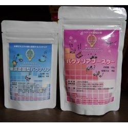 画像1: 底床添加型バクテリア、バクテリアブースター、バクテリアエレメントSET(各1個ずつ)
